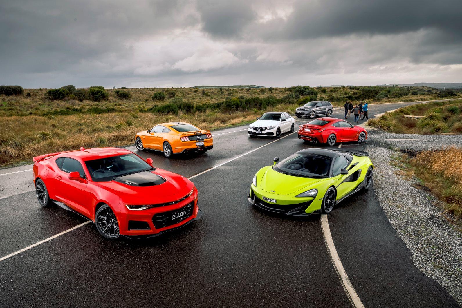 Great V8 mega test: the best V8s on sale, tested