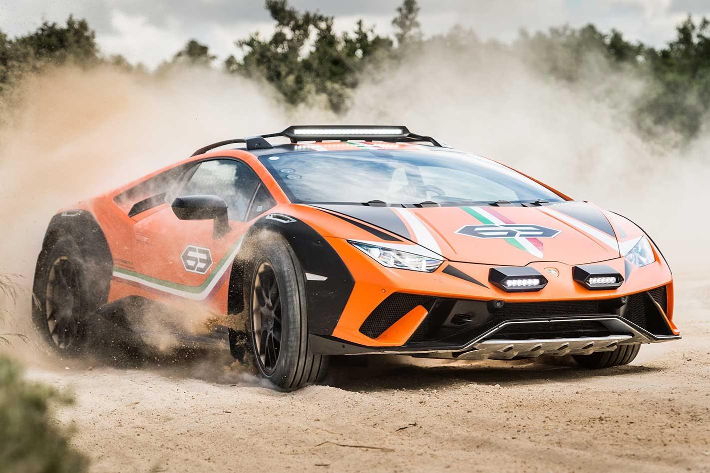 Lamborghini Huracán Sterrato concept review