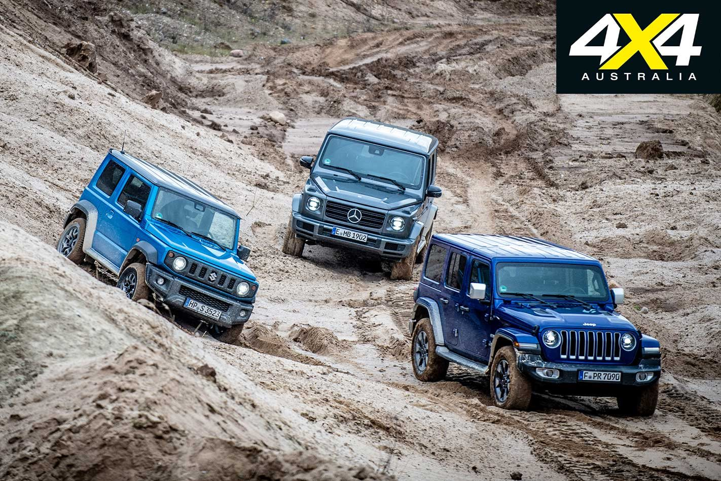2019 Suzuki Jimny Vs Jeep Jl Wrangler Vs Mercedes Benz G Class Comparison Review