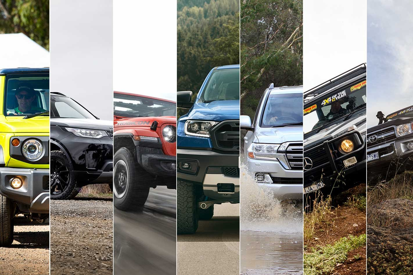 2019's best new off-road 4x4s you can buy straight off the showroom