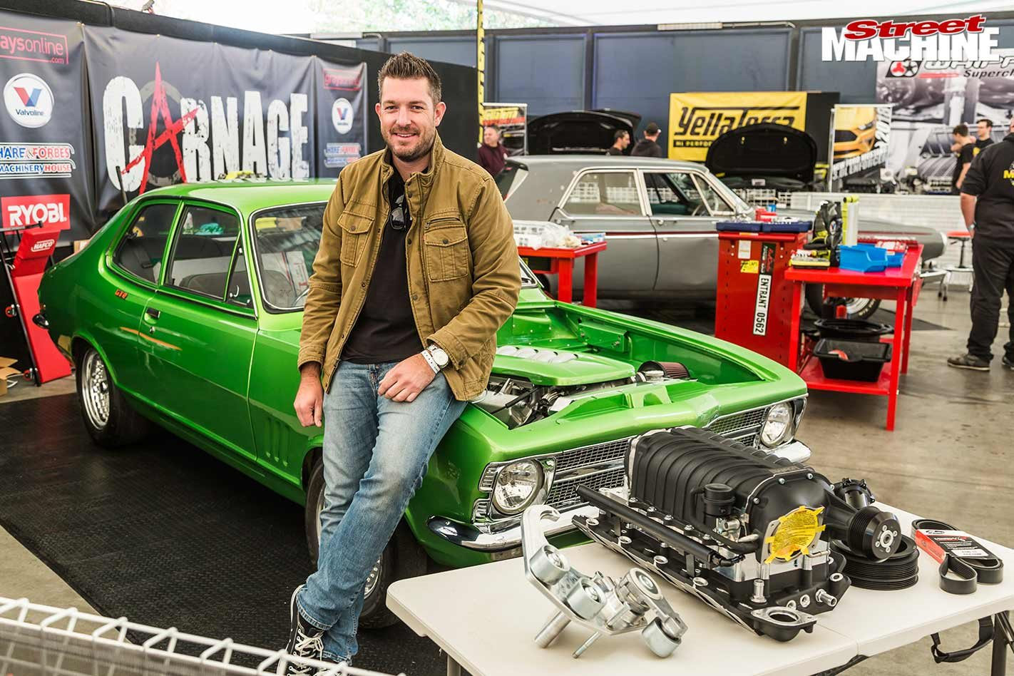 Installing a supercharger package to a Holden LC GTR Torana