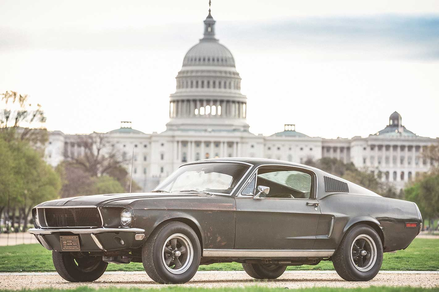 1968 Bullitt Mustang GT hero car to be auctioned