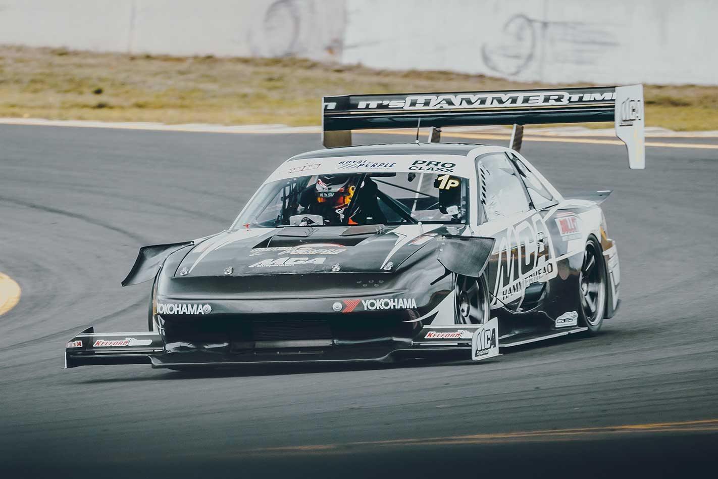 MCA Silvia S13 Hammerhead beats Queensland Raceway lap record