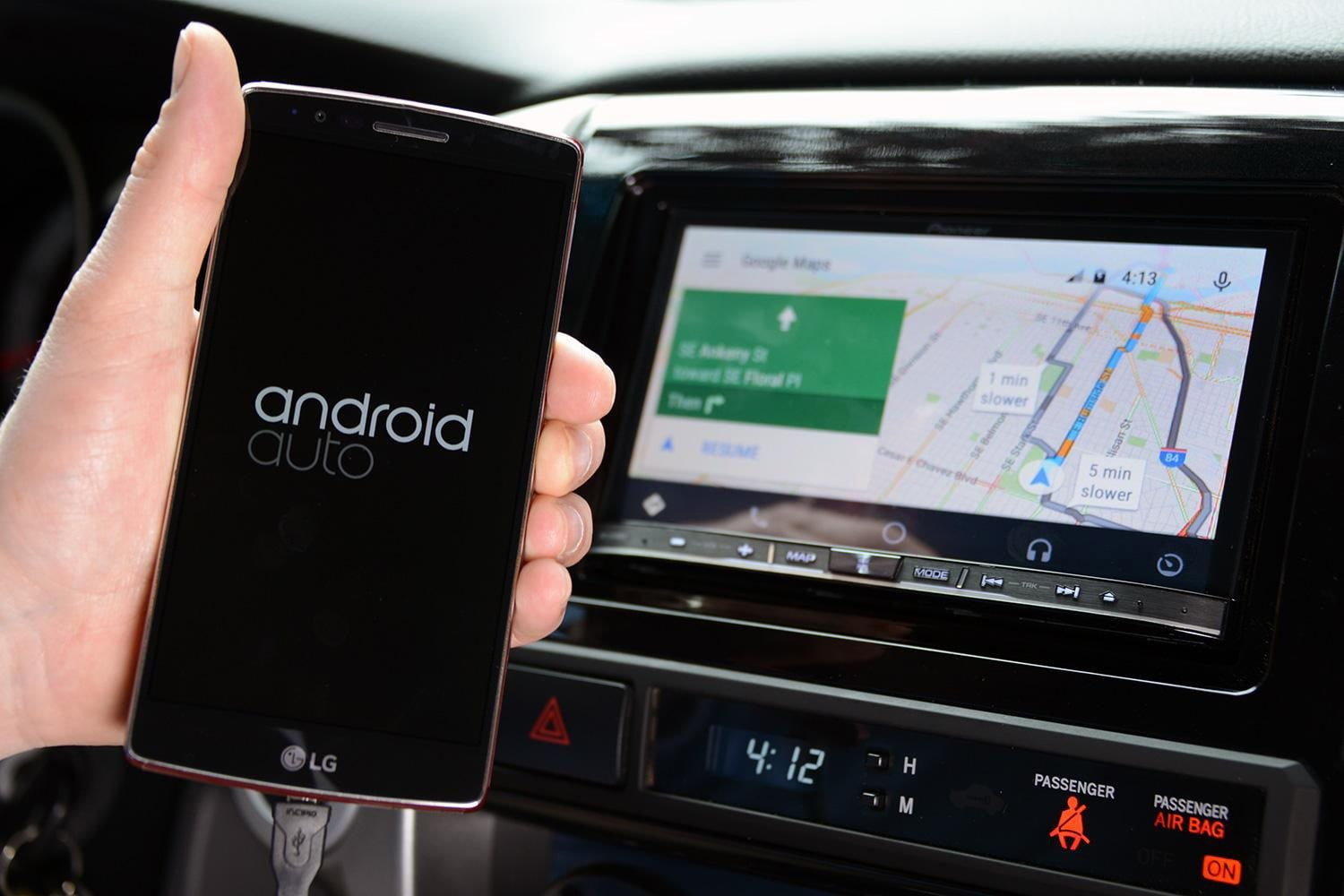 Adding Android Auto to an old car