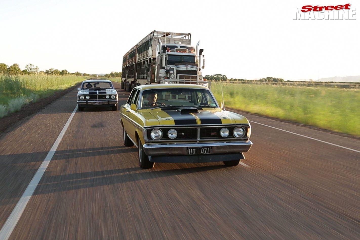 Ford Falcon XY GTHO Phase III Odyssey around Australia