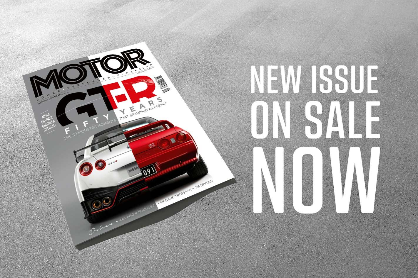 MOTOR Magazine celebrates 50 Years of the Nissan GT-R in its September 2019 issue