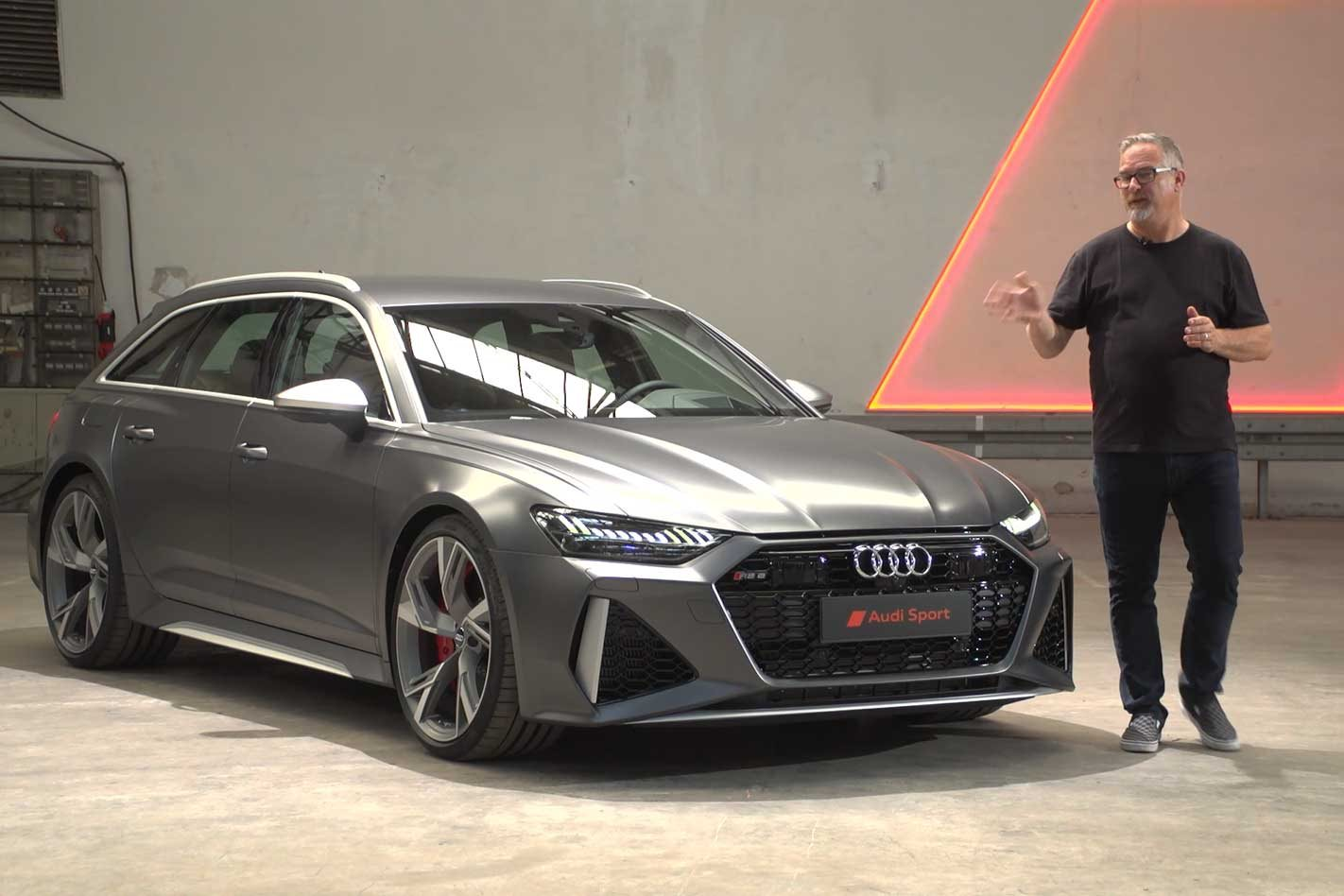 VIDEO: 2020 Audi RS6 Avant insider details revealed