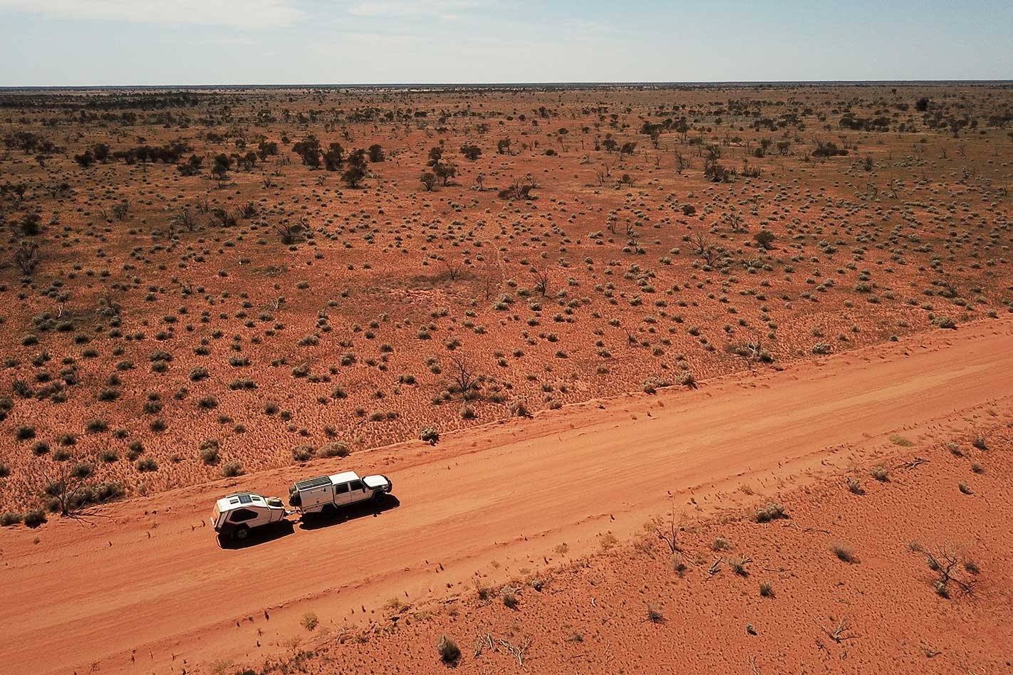 Properly prepare yourself when crossing the Australian outback