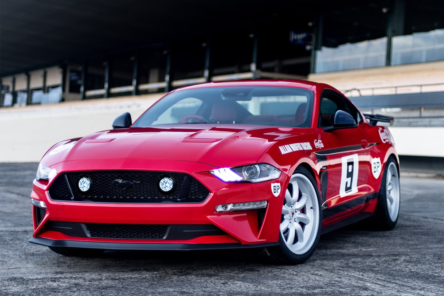 Limited edition Tickford Trans-Am Mustang is a tribute to the Coca-Cola racer