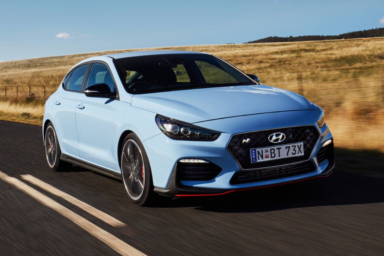 Hyundai i30 Fastback N: Wheels spin