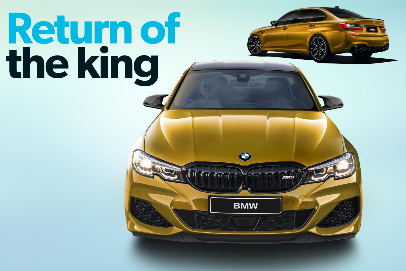 2020 bmw m3  return of the king