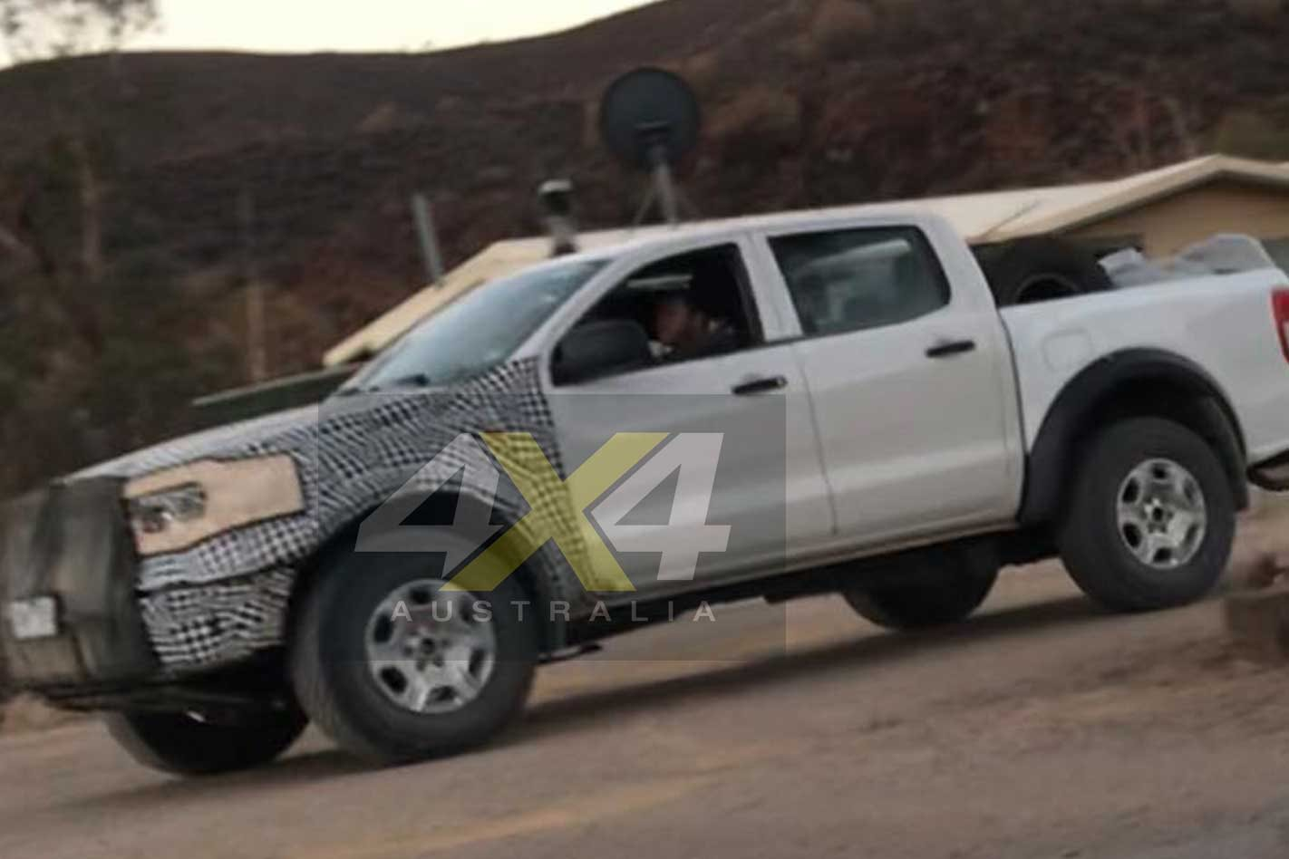 Ford Bronco Mules Spotted Testing In Australia