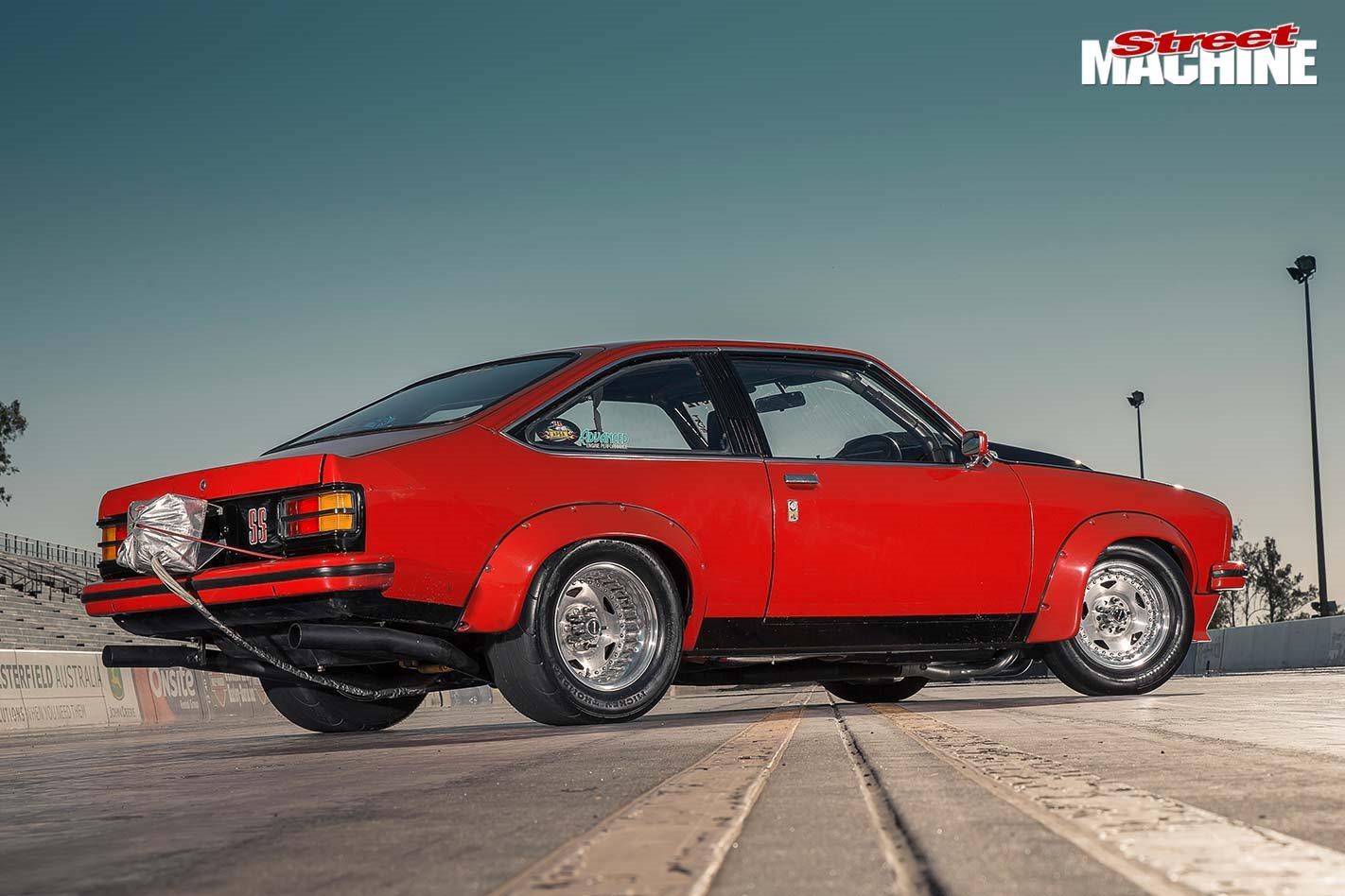 Pro street 1977 Holden LX Torana hatch - flashback