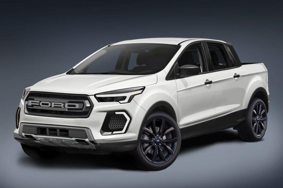 Ford's new car-based ute under development here in Australia