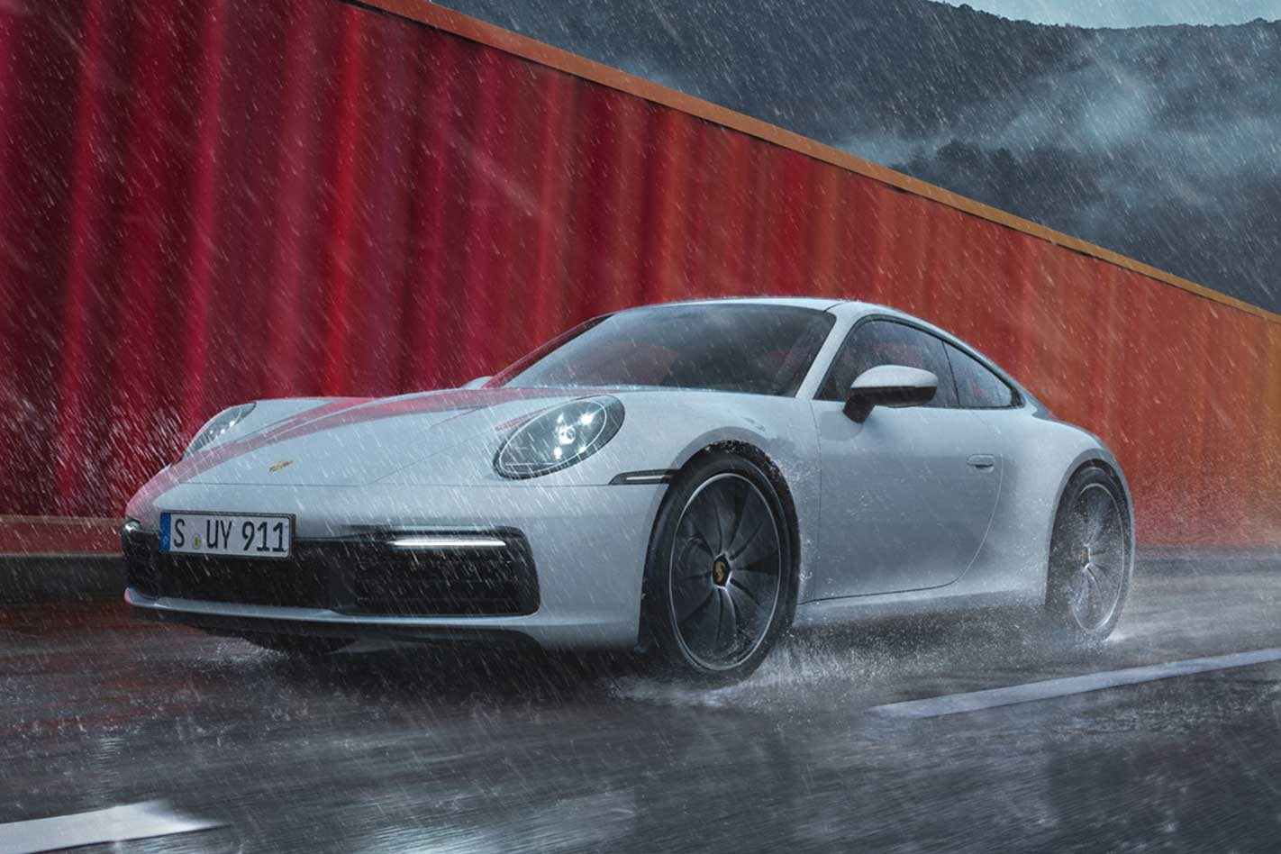 Porsche reveals its all-wheel drive 992 911 Carrera