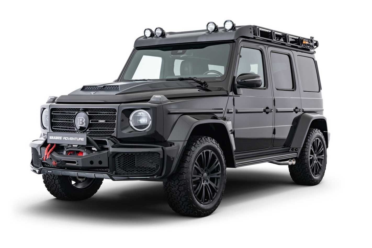 Brabus introduces an Adventure Package for the G-Wagen