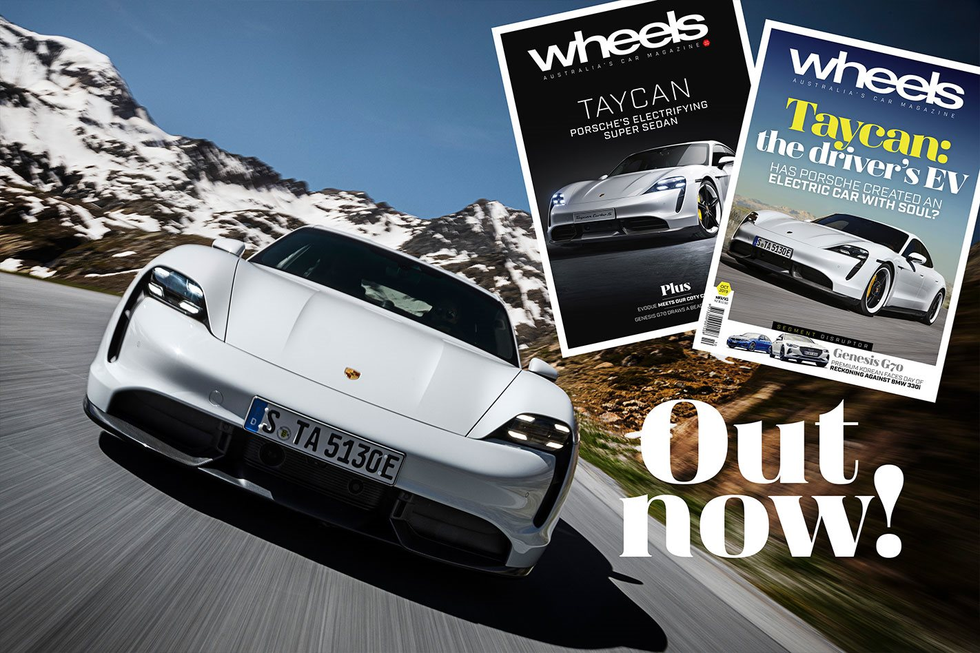 Finally, an EV for drivers! New issue of Wheels mag out now