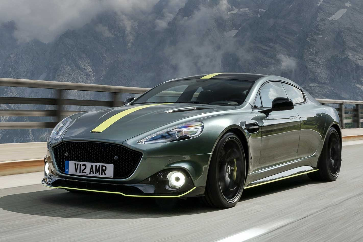2019 Aston Martin Rapide AMR performance review