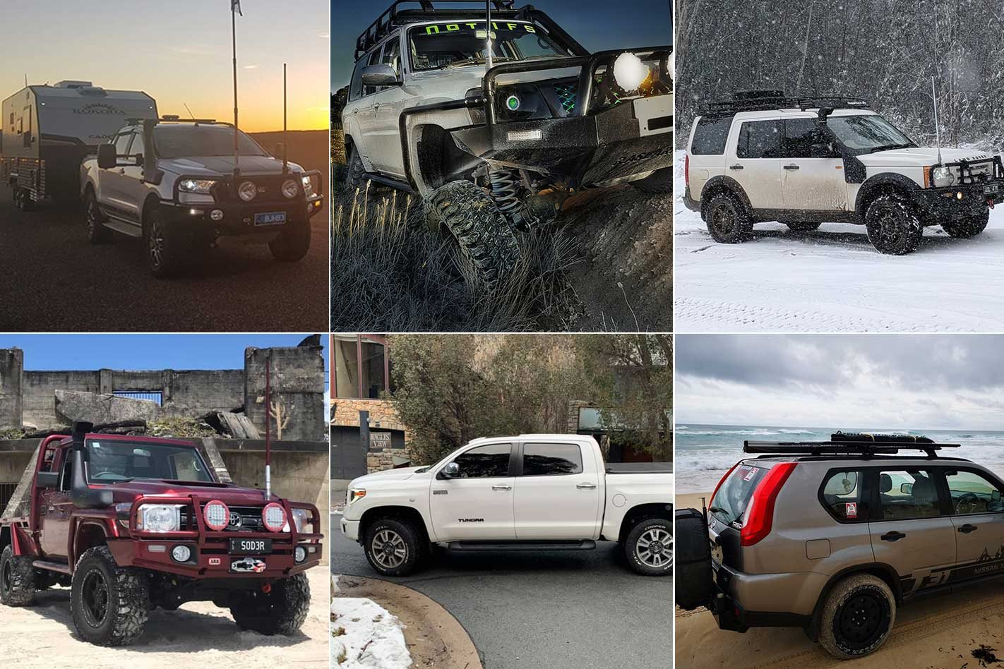 Nissan GU Patrol, Toyota Tundra and more in September's Readers' Rigs