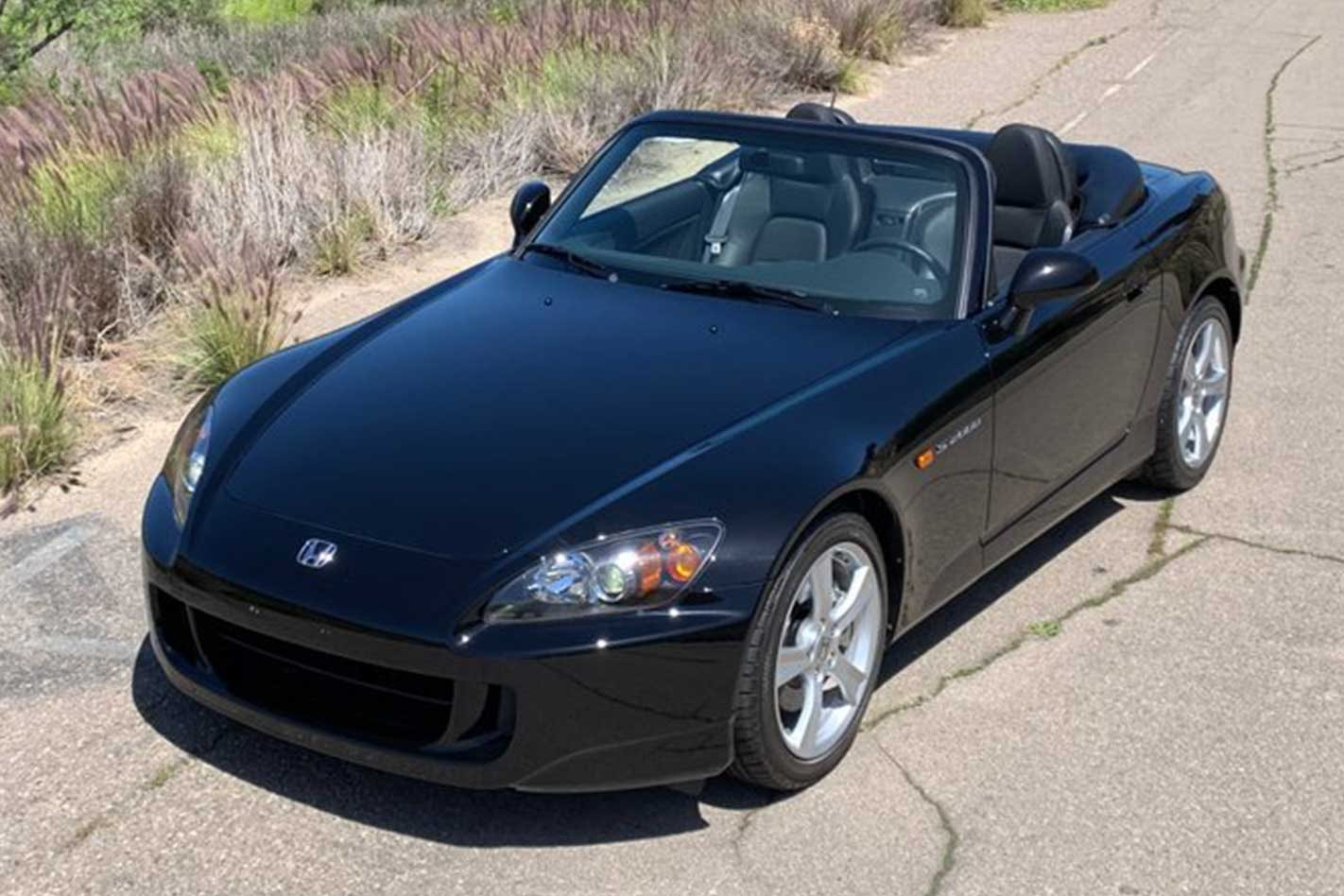 Never-registered 2009 Honda S2000 for sale at six-figures