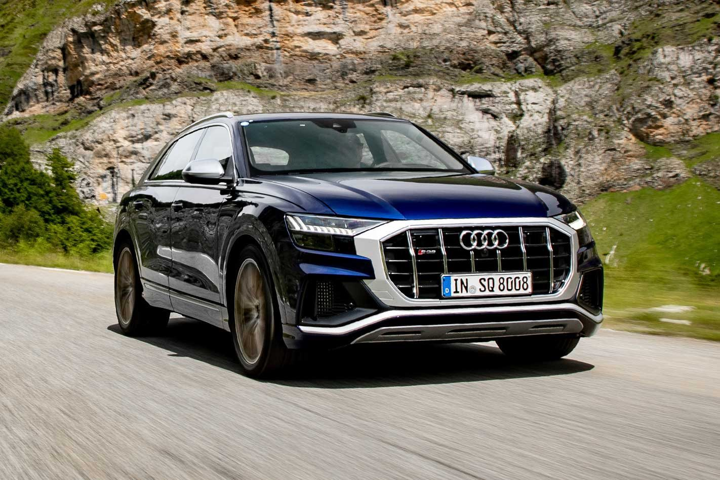 2019 Audi SQ8 TDI performance review