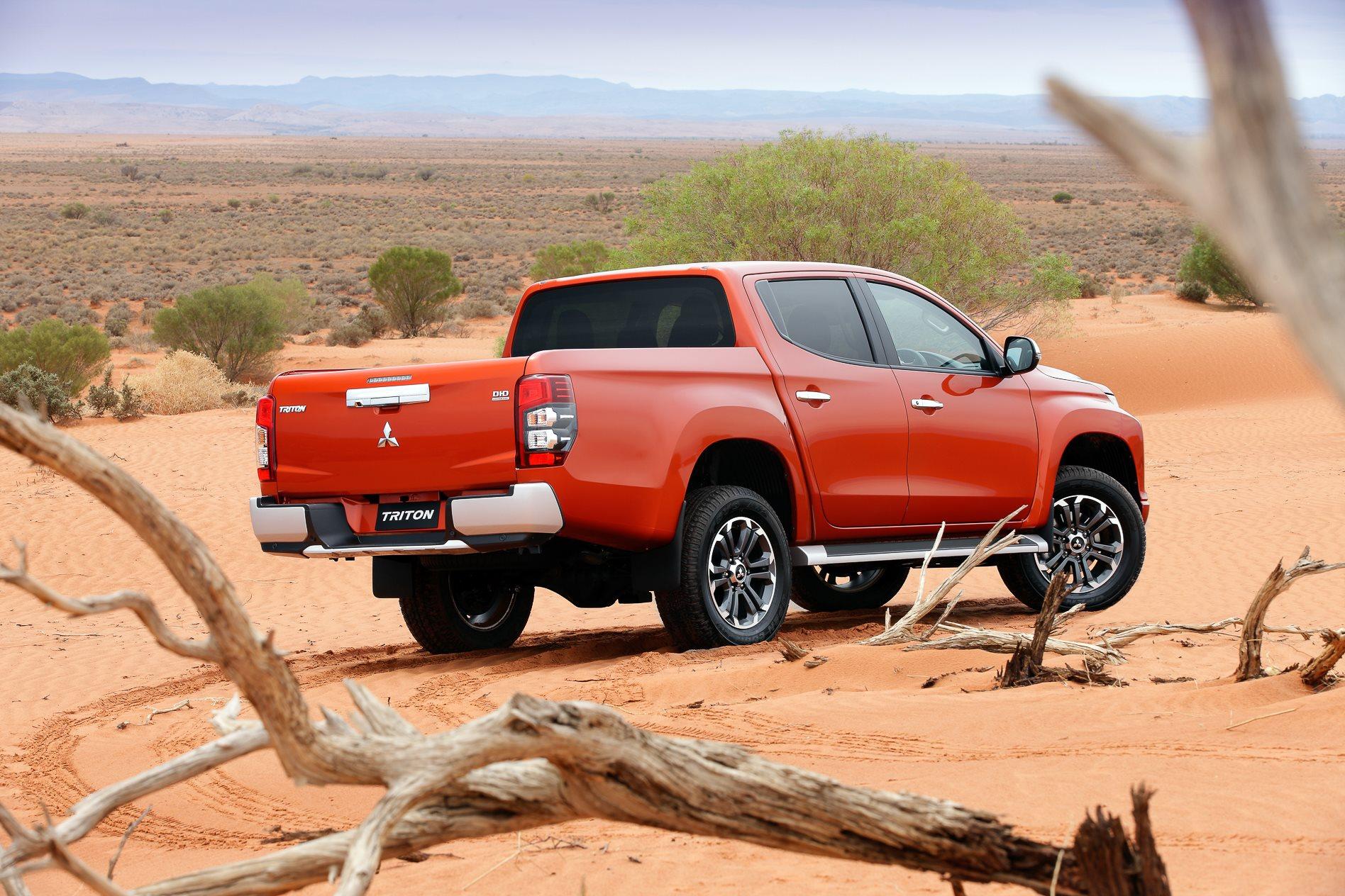 Mitsubishi's Aussie flavoured Triton takes shape