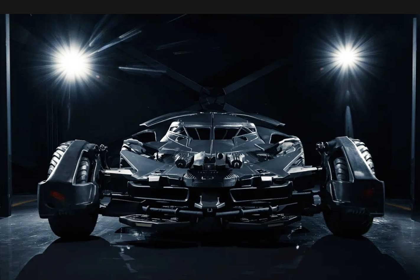 Batman v Superman Batmobile replica up for sale in Russia