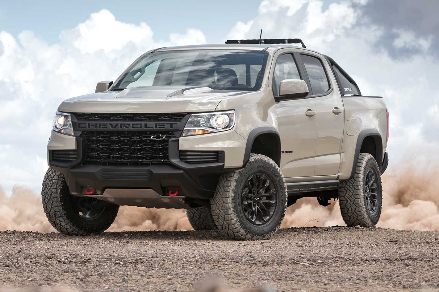 Updated Colorado ZR2 set for SEMA debut