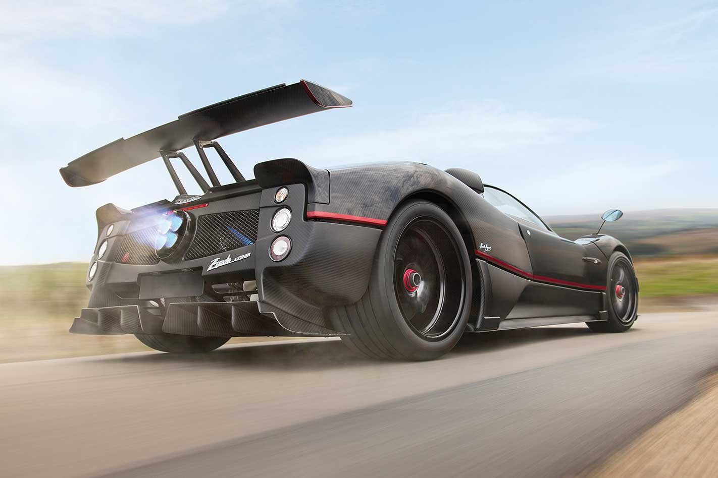 One-off Pagani Zonda Aether heads for auction at F1 season finale