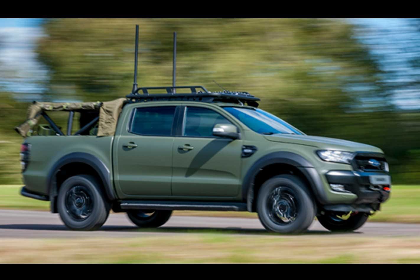 Ford Ranger gets the mil-spec treatment