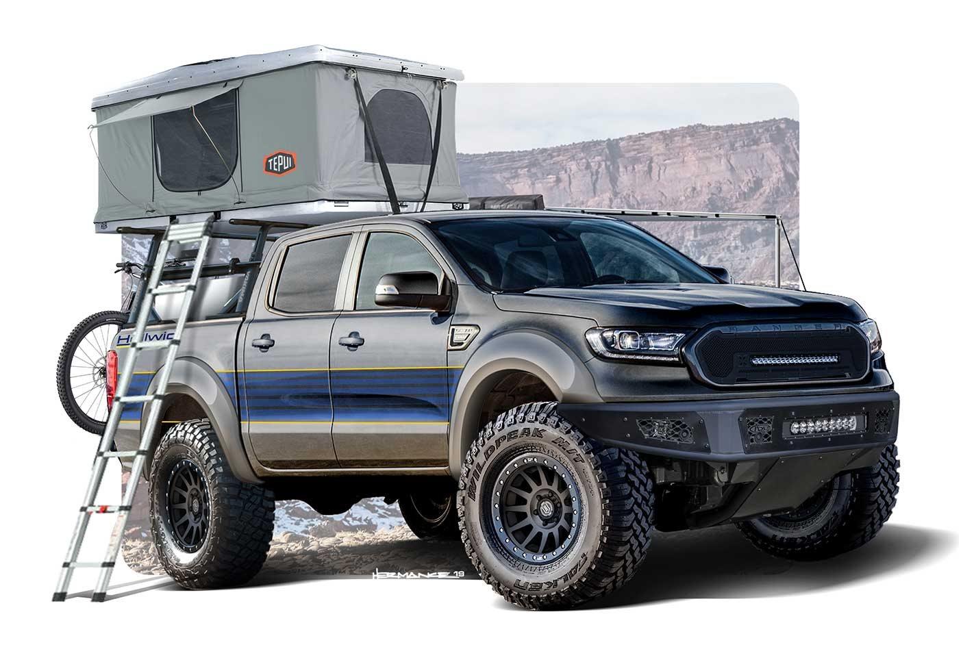 Six Ford Ranger customs ready for SEMA Show