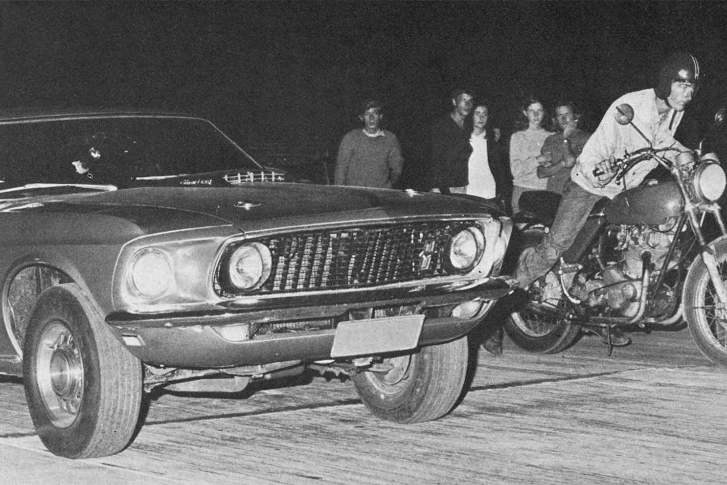 Archive: Brickies, the home of Australia's illegal street racing in the '70s