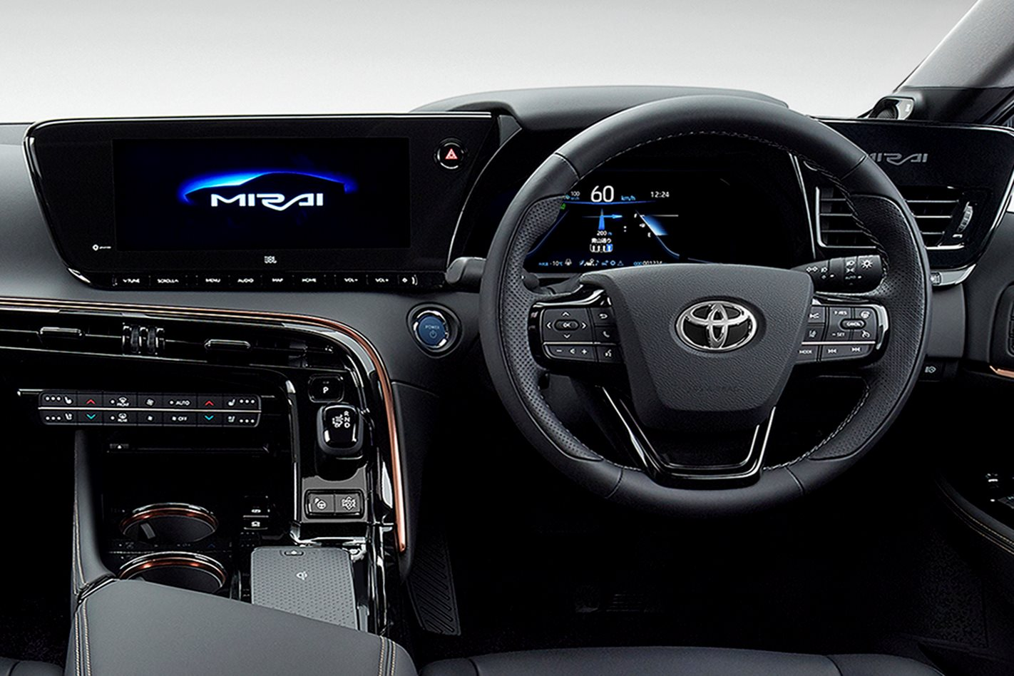 2020 Toyota Mirai Revealed Makes Hydrogen Sexy