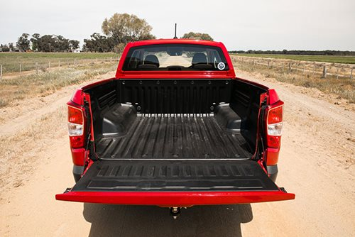 SsangYong Musso XLV tray