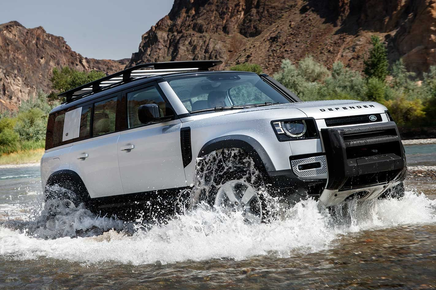 A closer look at the 2020 Land Rover Defender