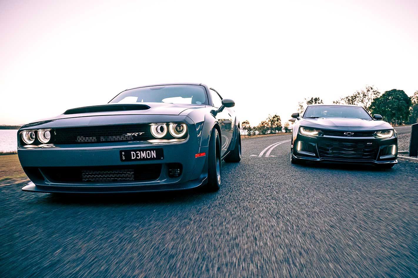 2019 Dodge Challenger Demon Vs Hennessey Exorcist Rhd Comparison Review