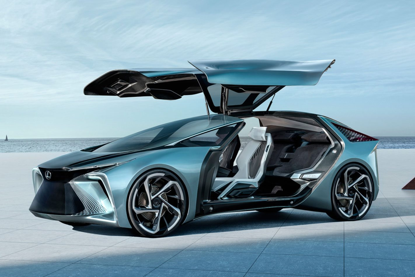 Lexus LF30 concept revealed as brand's first pure EV