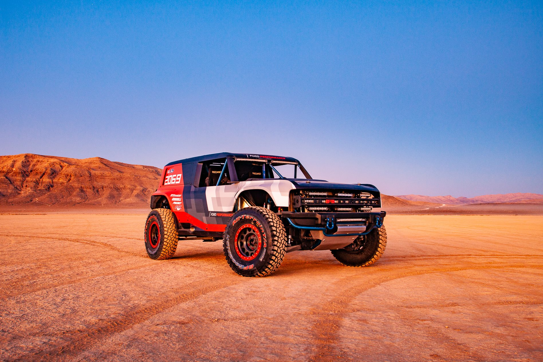 Ford Bronco R Race Prototype Hints At 2020 Production Model