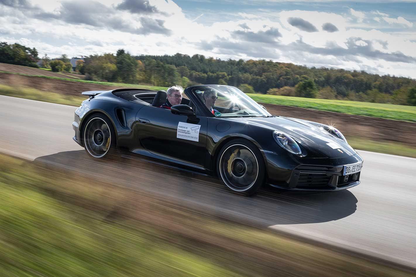 2020 Porsche 992 911 Turbo S Details
