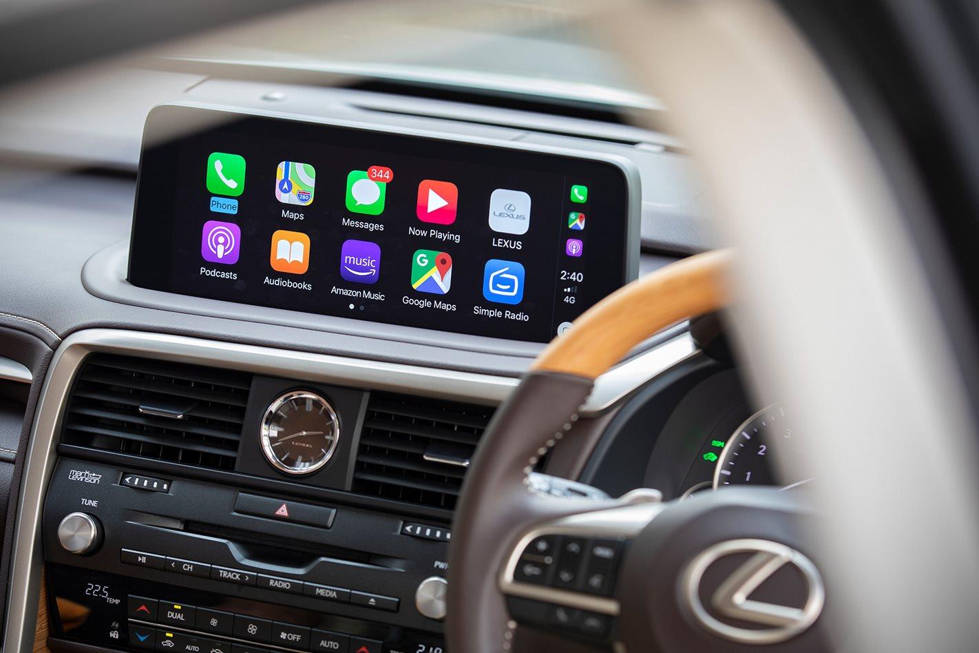 Lexus reveals Apple CarPlay update
