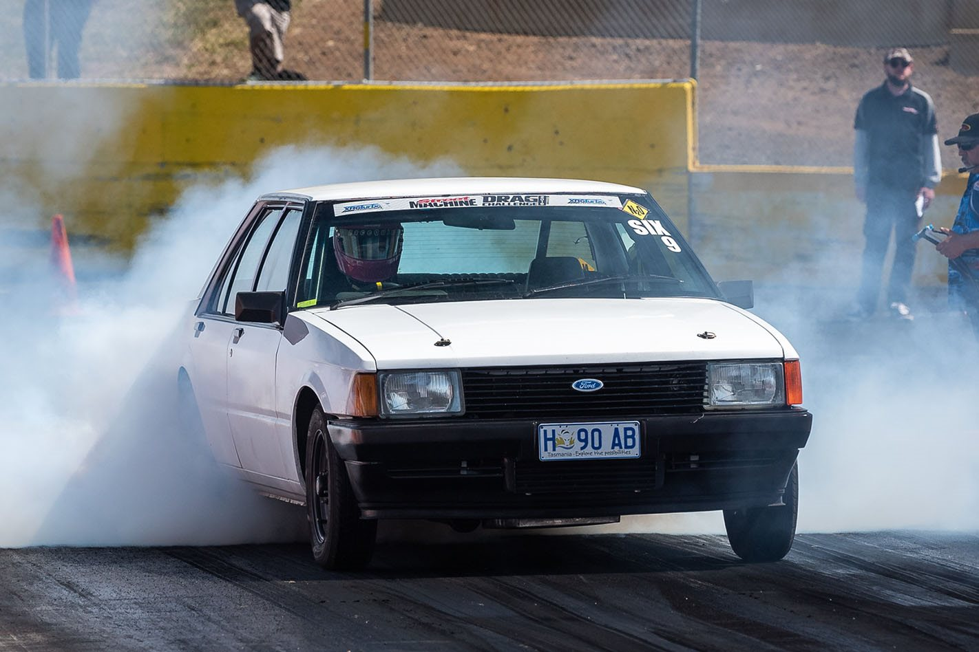1200hp Barra-swapped XD Falcon – Drag Challenge 2019
