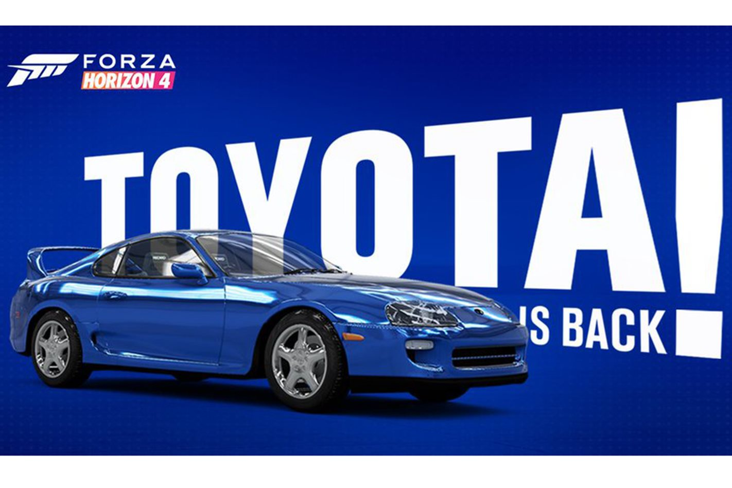 Toyota heads back to Forza with Mk4 Supra