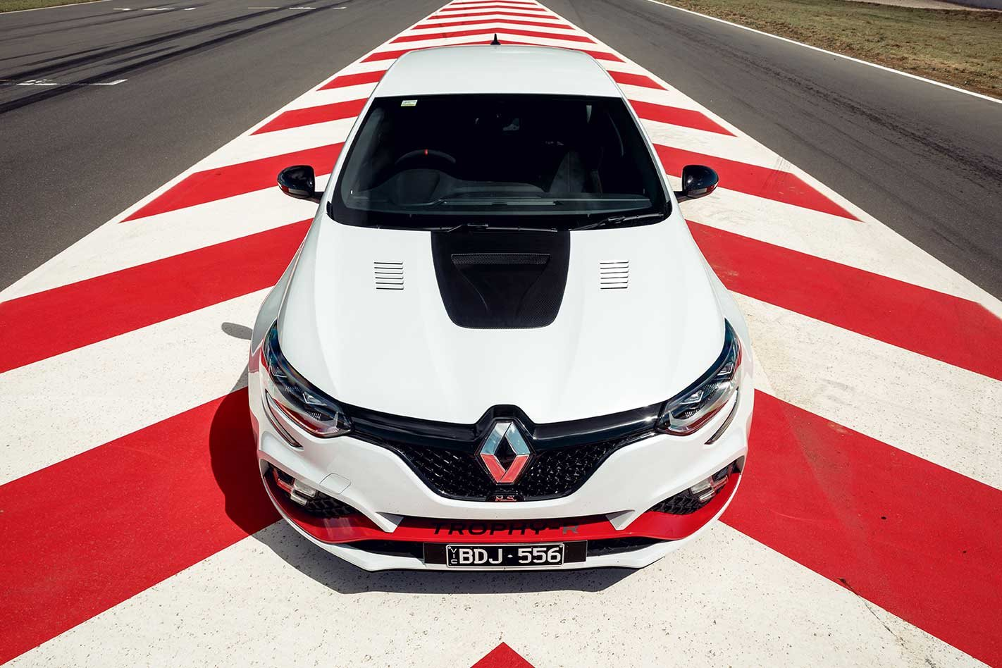 Renault Megane Trophy-R acceleration figures tested