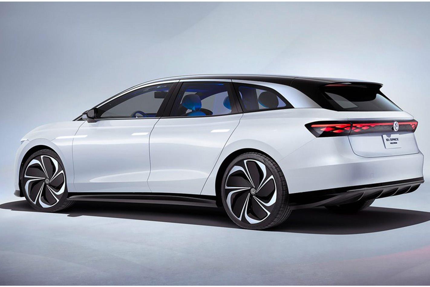 Volkswagen ID Space Vizzion: Volkswagen's electric estate car is here