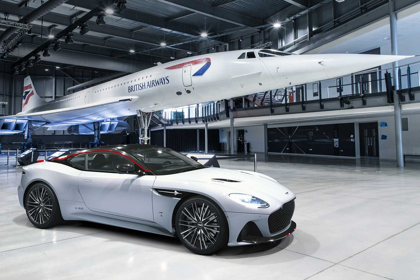 Super-rare Aston Martin DBS Superleggera Concorde unveiled