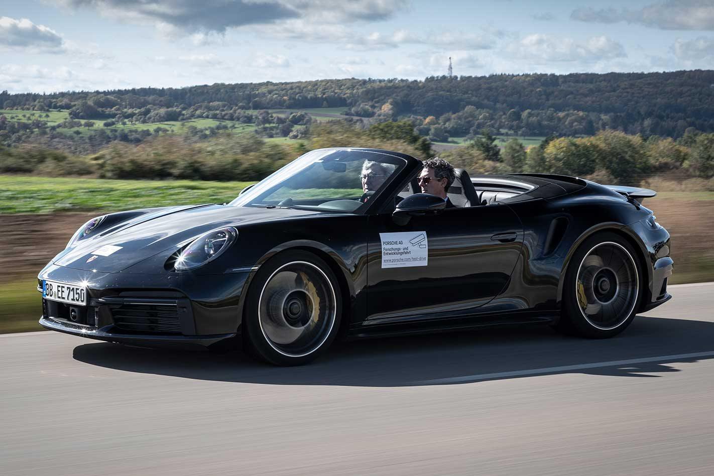 2020 Porsche 992 911 Turbo S prototype review