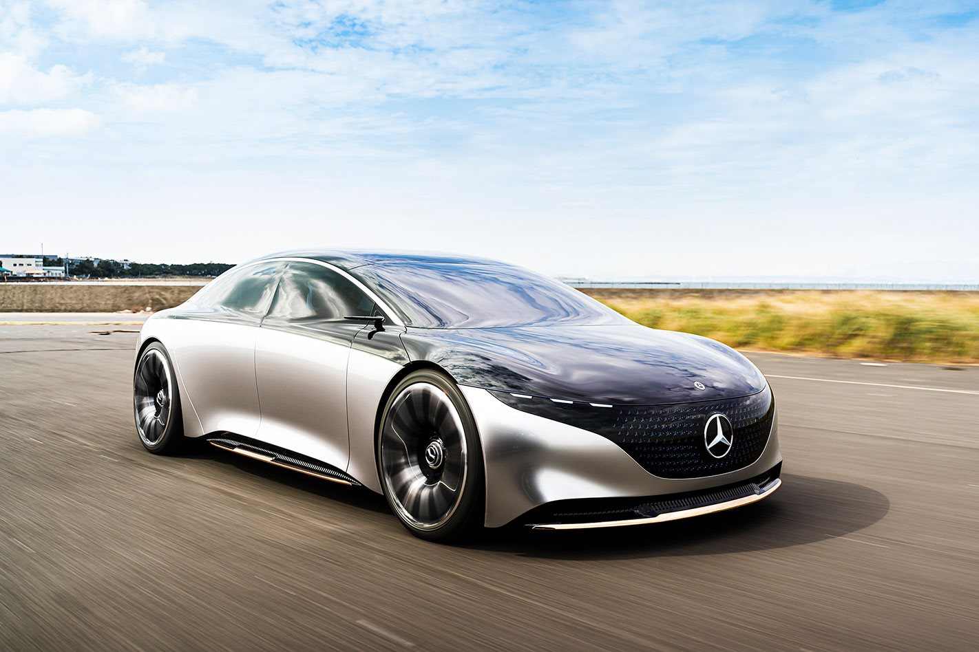 We have driven Mercedes-Benz's car of the future