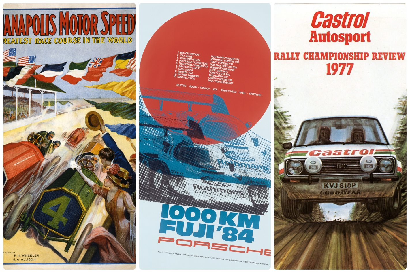 Gallery: The art of speed and racing posters