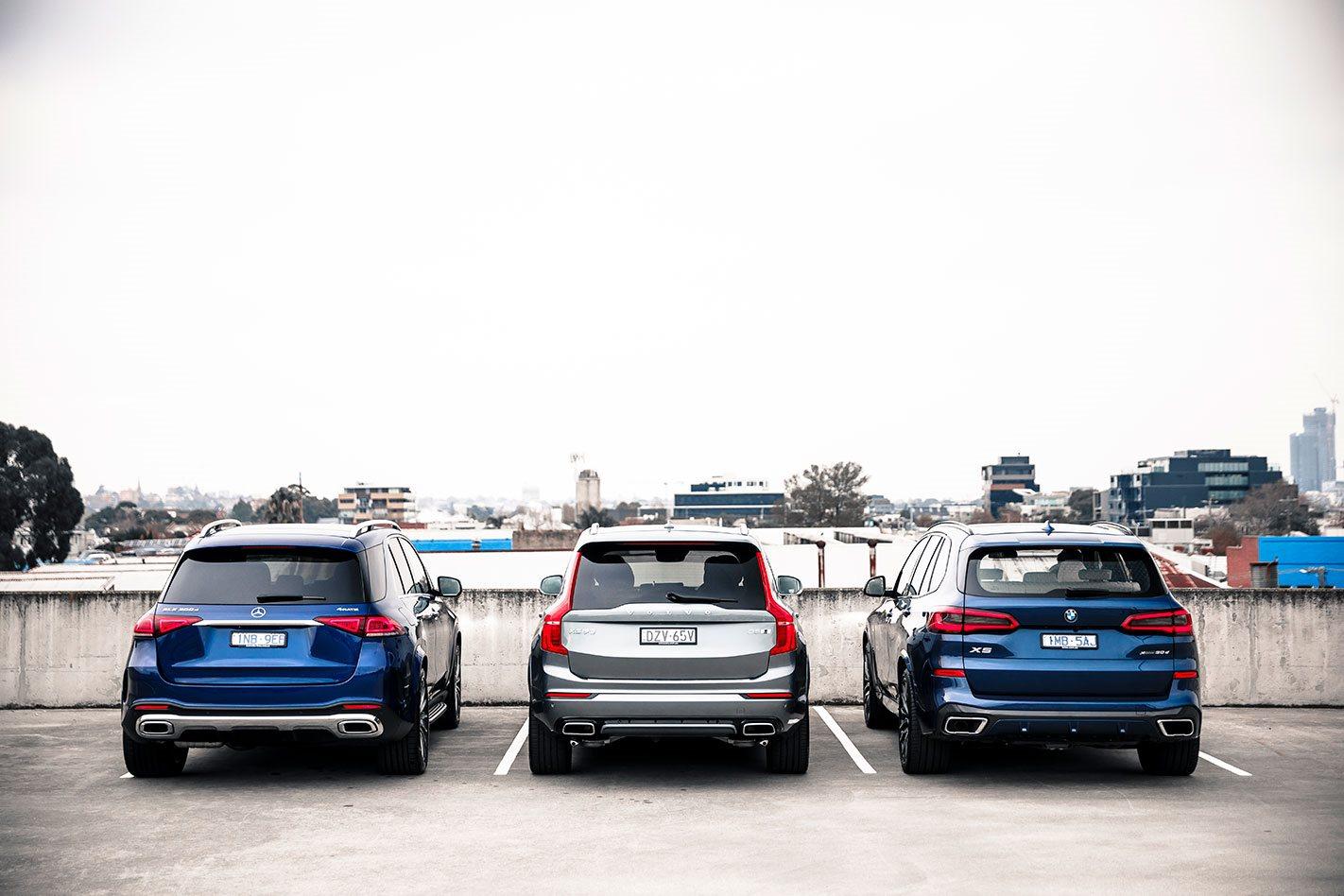 Bmw X5 Vs Mercedes Benz Gle Vs Volvo Xc90 Comparison