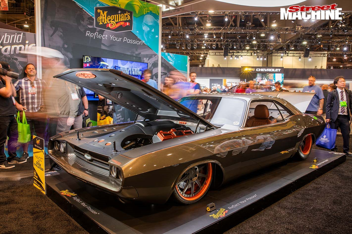 Americans react to the Rides by Kam Challenger at SEMA - Video